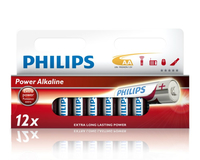 Philips Power Alkaline Batteria LR6P12W/10