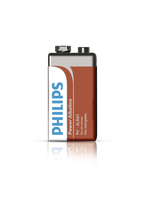 Philips Power Alkaline Batteria 6LR61P4F/10
