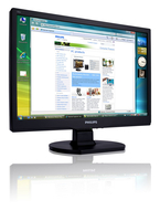 "Philips 190V1SB/62 19"" Nero monitor piatto per PC"