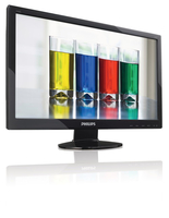 "Philips 246EL2SB/93 23.6"" Full HD LCD/TFT Lucida Nero monitor piatto per PC"