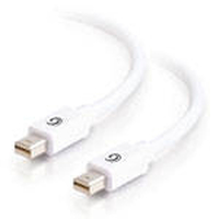 C2G 81284 2m Mini DisplayPort Mini DisplayPort Bianco cavo DisplayPort