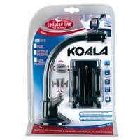 Cellularline KOALA Passive holder Nero supporto per personal communication