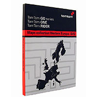 TomTom Map of Western Europe 2006 DVD v6.6