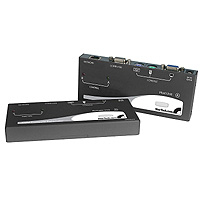 StarTech.com PS/2 + USB KVM Console Extender Nero switch per keyboard-video-mouse (kvm)