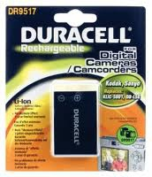 Duracell Camera Battery 3.7v 1550mAh 5.7Wh Ioni di Litio 1550mAh 3.7V batteria ricaricabile