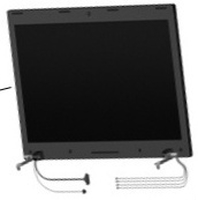 "HP 606166-001 17.3"" Nero monitor piatto per PC"