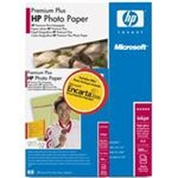 HP Premium Plus Photo Paper with Microsoft Encarta carta fotografica