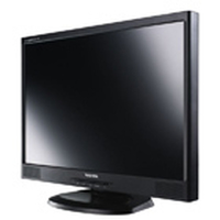 "Toshiba Tekbright TFT 22"" 22"" Nero monitor piatto per PC"
