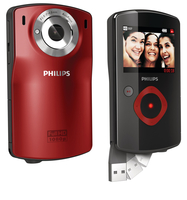 Philips Videocamera HD CAM110RD/00