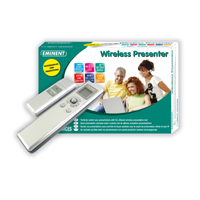 Eminent Wireless Presenter Argento puntatore wireless