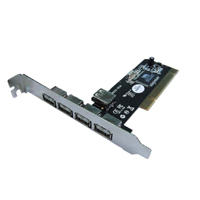 PCI CARD USB 2.0 4+1 EW1105