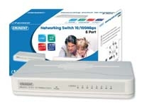 Eminent 8 Port Networking Switch 10/100Mbps No gestito