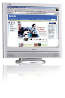 "Philips Brilliance 200S4SS/00 20.1"" LCD monitor piatto per PC"