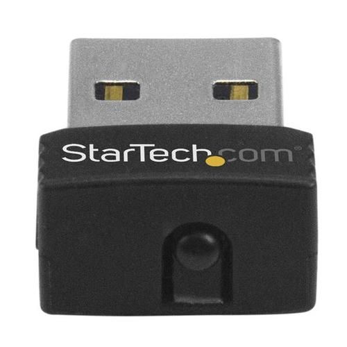 StarTech.com USB Wireless Mini Lan Adapter 150Mbit/s - WiFi USB Mini Wlan Adapter 802.11n/g - USB - 150 Mbit/s - 2,40 GHz