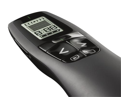 Logitech R700 Pointer - Funkfrequenz - USB - Laser - Kabellos - 2,40 GHz