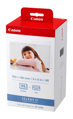 Canon KP-108IN photo paper Red,White