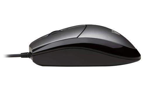 Souris optique filaire USB 3 boutons Gris/noir 1000 dpi