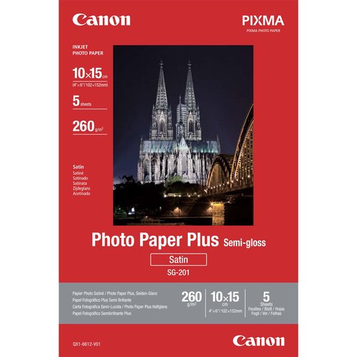 Canon Photo Paper Plus SG-201 photo paper
