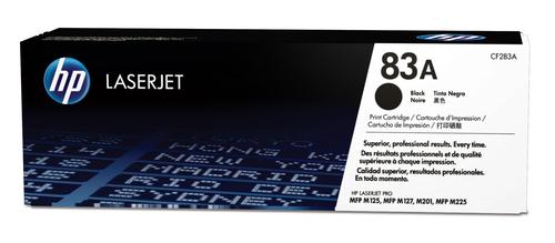 83A Black Original  LaserJet Toner Cartridge