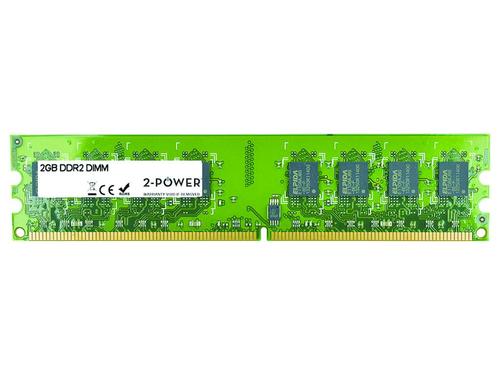 2-Power 2GB DDR2 800MHz DIMM 2GB DDR2 800MHz memory module