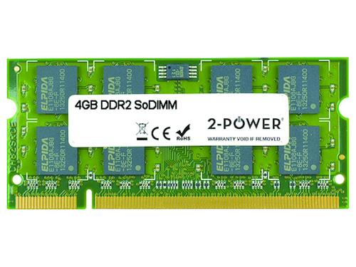 2-Power 4GB DDR2 800MHz SODIMM 4GB DDR2 800MHz memory module