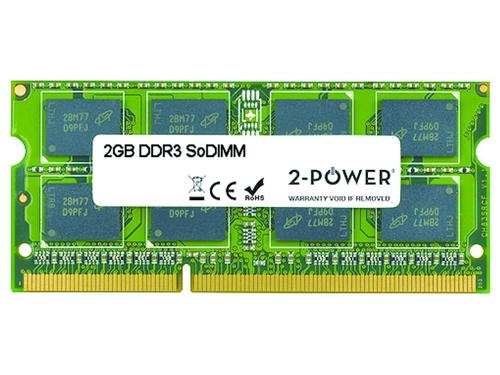 2-Power 2GB DDR3 1066MHz SoDIMM 2GB DDR3 1066MHz memory module