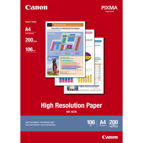 Canon High Resolution Paper A4 - 200 Sheets