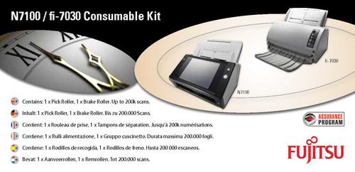 Fujitsu CON-3706-001A Scanner Consumable kit