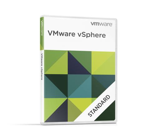 Fujitsu VMware vSphere Standard, 1 Year virtualization software