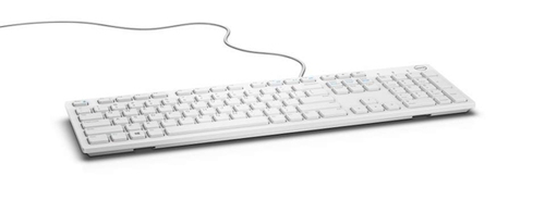 DELL KB216 USB QWERTY English White keyboard