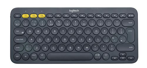 Logitech K380 Bluetooth QWERTY UK English Grey keyboard