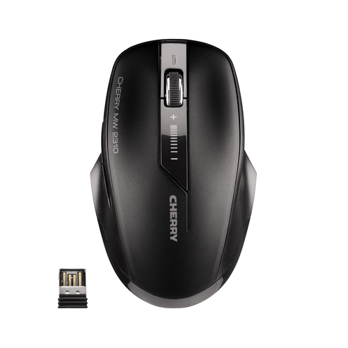CHERRY MW 2310 RF Wireless IR LED 2000DPI Ambidextrous Black mice
