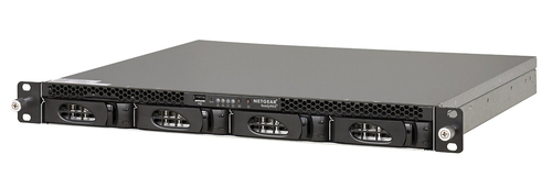 Netgear ReadyNAS 3138 NAS Rack (1U) Ethernet LAN Black