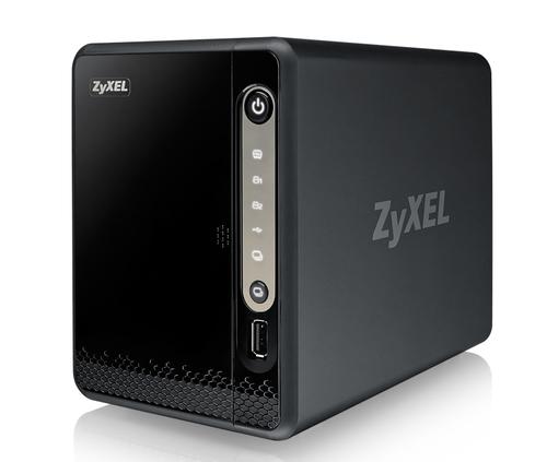 ZyXEL NAS326 NAS Mini Tower Ethernet LAN Black