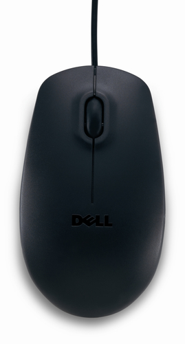 DELL USB Optical Mouse - MS111 - black