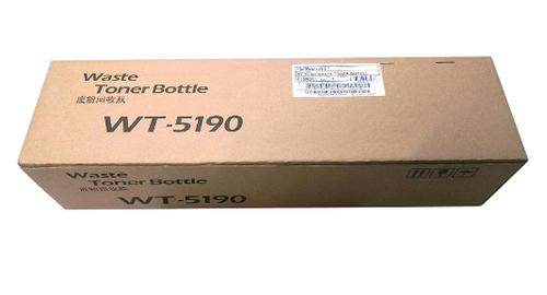 Kyocera WT-5190 Resttoner-Flasche - Schwarz, Farbe - Laserdruck - 44000 Seiten, 44000 Seiten Druckkapazität Schwarz, Farbe