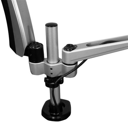 StarTech.com Dual-Monitorhalterung mit voll beweglichem Arm - Stapelbar - Austauschbare Arme und federunterstützte Höhenve