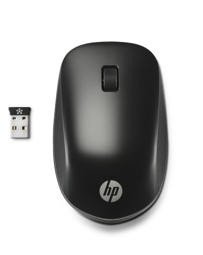 HP Ultra Mobile Wireless RF Wireless Optical 1200DPI Ambidextrous Black mice