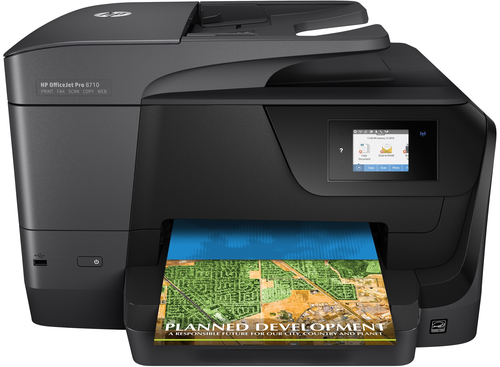 HP OfficeJet Pro 8710 AiO 4800 x 1200DPI Thermal Inkjet A4 22ppm Wi-Fi multifunctional