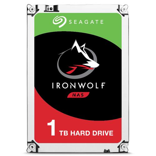 Seagate NAS HDD IronWolf 1TB 1000GB Serial ATA III internal hard drive