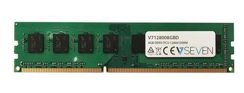 V7 RAM-Modul für Desktop-PC - 8 GB - DDR3-1600/PC3-12800 DDR3 SDRAM - 1600 MHz - CL11 - Ungepuffert - 240-polig - DIMM - 1