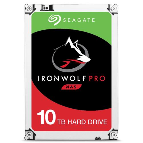 Seagate IronWolf Pro 10TB 10000GB Serial ATA III internal hard drive