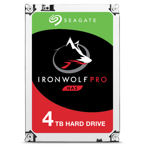 Seagate IronWolf Pro 4TB 4000GB Serial ATA III internal hard drive