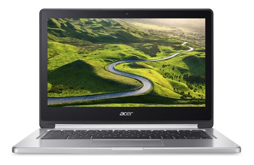 "Acer Chromebook R 13 CB5-312T-K1TR Black,Silver 33.8 cm (13.3"") 1920 x 1080 pixels Touchscreen MediaTek M8173C 4 GB LPDDR3-SDRAM 64 GB Flash"