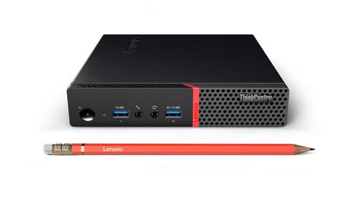 Lenovo ThinkCentre M715 3GHz A10-9700E 1L sized PC Black Mini PC