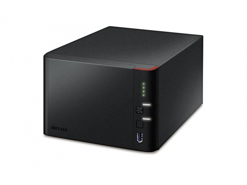 Buffalo LinkStation 441D NAS Ethernet LAN Black
