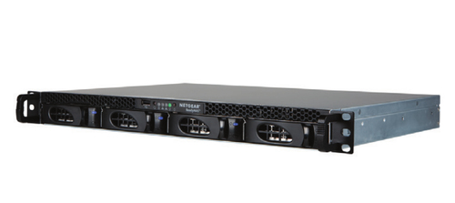 Netgear ReadyNAS 2304 Ethernet LAN Rack (1U) Black NAS