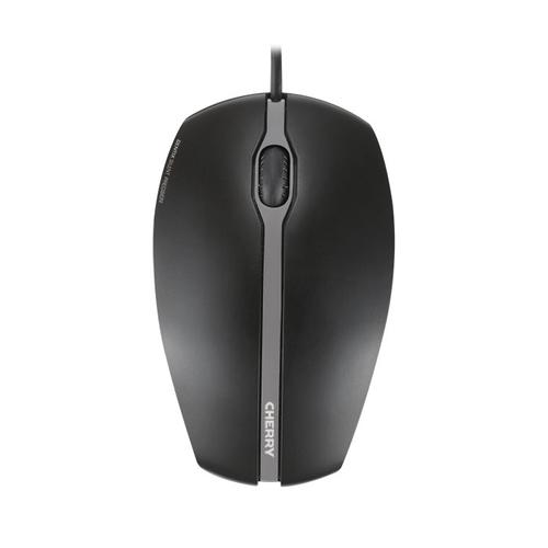 CHERRY Gentix Silent USB Optical 1000DPI Ambidextrous Black mice