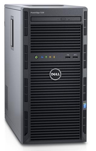 DELL PowerEdge T130 server 3 GHz Intel® Xeon® E3 v6 E3-1220 v6 Mini Tower 290 W