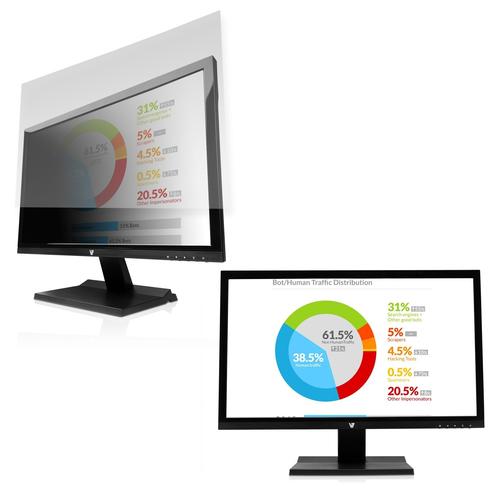 V7 PS23.8W9A2-2E Blickschutzfilter - für 60,5 cm (23,8 Zoll) Widescreen LCD Monitor, Notebook - 16:9 - Kratzfest